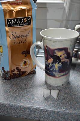 Rose - Morning coffee by Linda Covino