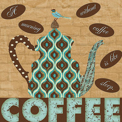 Morning Coffee Art Print by Marilu Windvand