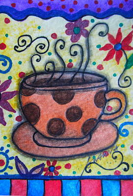 Painting - Morning Coffee by Pristine Cartera Turkus