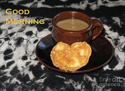 Ethereal - Morning Coffee Served With Love by Ausra Huntington nee Paulauskaite
