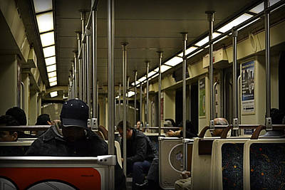 Photograph - Morning Commute by Nadalyn Larsen