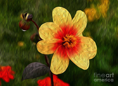Digital Art - Morning Dew I by Kenneth Montgomery