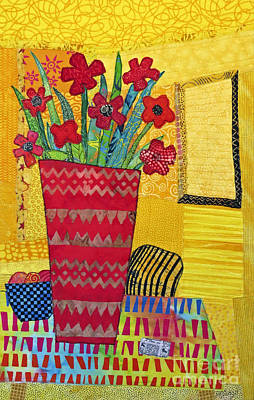 Tapestry - Textile - Morning Dreams by Susan Rienzo