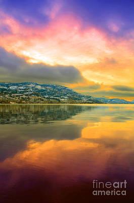Skaha Lake Photograph - Morning Entrance by Tara Turner