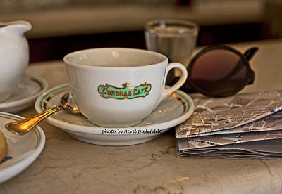 Photograph - Morning Espresso-italian Style by April Bielefeldt
