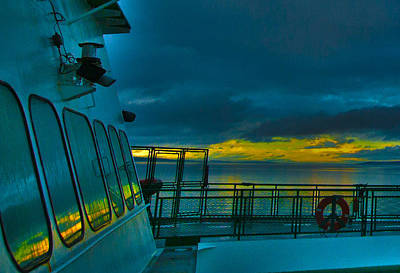 Photograph - Morning Ferry Ride by Dale Stillman