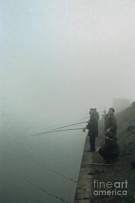 Pyrography - Morning Fishing by Evgeniy Lankin