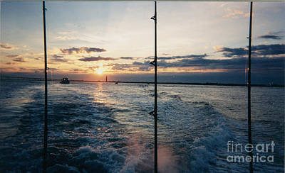 Art Print featuring the photograph Morning Fishing by John Telfer