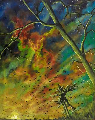 Painting - Morning Flight by Joel Tesch