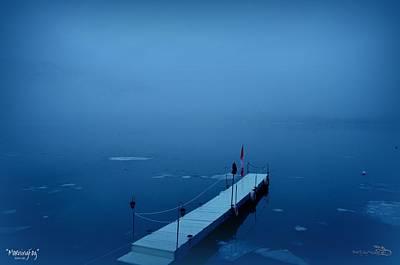 Morning Fog 001 - Skaha Lake 03-06-2014 Art Print