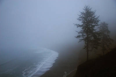 Photograph - Morning Fog At Agate Beach by Robert Woodward