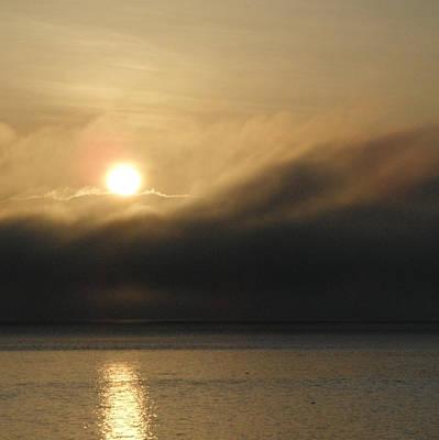 Wall Art - Photograph - Morning Fog by A Cyaltsa Finkbonner