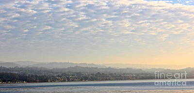 Rio Del Mar Photograph - Morning Fog On Monterey Bay by Shannan Peters