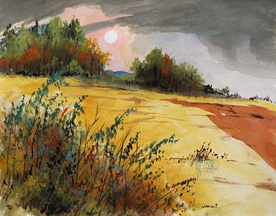 Morning Fragrance Art Print by John Williams