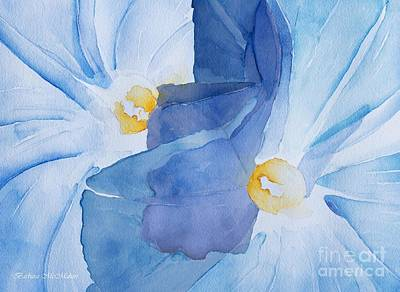 Painting - Morning Glory Abstract by Barbara McMahon
