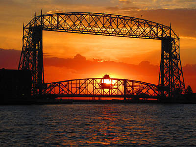 Duluth Photograph - Morning Glory by Alison Gimpel