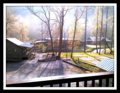 Digital Art - Morning Glory At Ironhorse Resort by Angelia Hodges Clay
