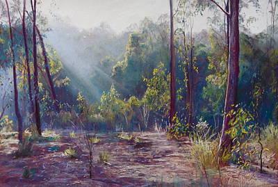 Morning Glory Art Print by Lynda Robinson