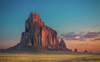 Rock Photograph - Morning Glory On Tse' Bit' Ai' by Michael Zheng