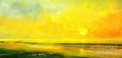 Painting - Morning Glow by Keith Wilkie