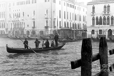 Photograph - Morning Gondola In Venice by John Rizzuto
