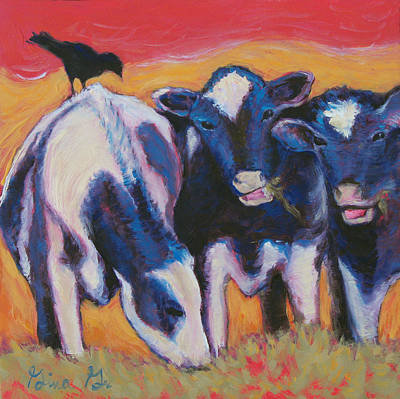 Painting - Morning Gossip by Gina Grundemann