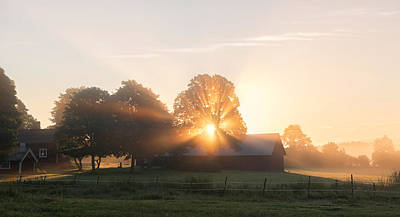 Rural Photograph - Morning Has Broken by Christian Lindsten