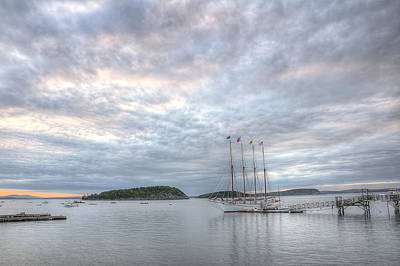 Ships Photograph - Morning Has Broken by Donna Doherty