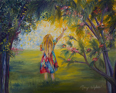 Painting - Good Morning Sunshine by Mary Wykes