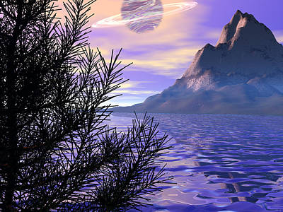 Digital Art - Morning Has Broken by Michele Wilson