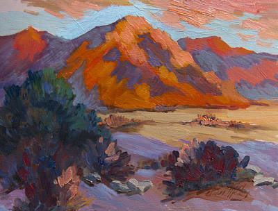 Painting - Morning Has Risen by Diane McClary