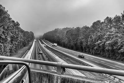 Photograph - Morning Highway by Howard Salmon