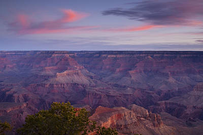 Morning Hike Into The Grand Canyon Art Print by Andrew Soundarajan