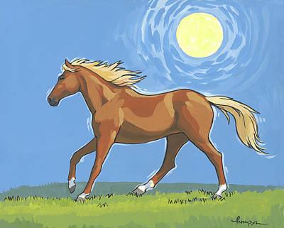 Morning Horse Original