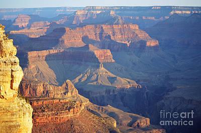Morning Hues Over Grand Canyon National Park Art Print