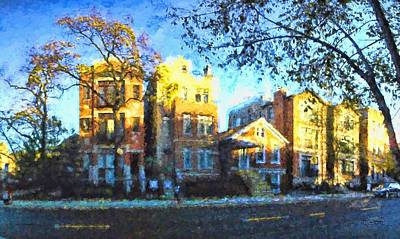 Painting - Morning In Bucktown by Dave Luebbert