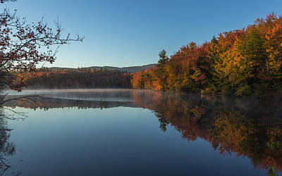 Scenic New Hampshire Photograph - Morning In Dublin by Chris Fletcher