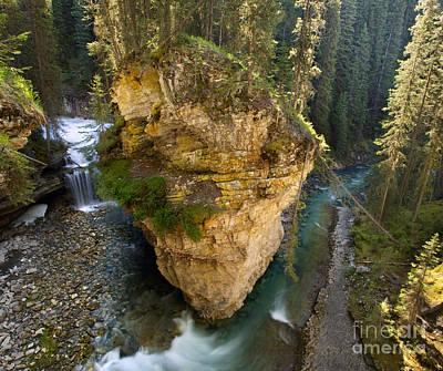 Banff Canada Photograph - Morning In Johnston Canyon by Matt Tilghman