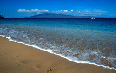 Kaanapali Beach Photograph - Morning In Maui by Kathy Yates