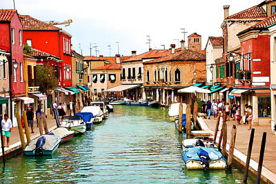 Digital Art - Morning In Murano by Brian Davis