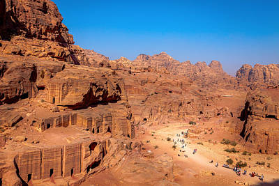 Morning In Petra Art Print