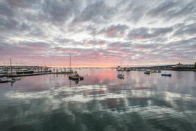 Morning In Rockland Harbor Art Print by Tim Sullivan