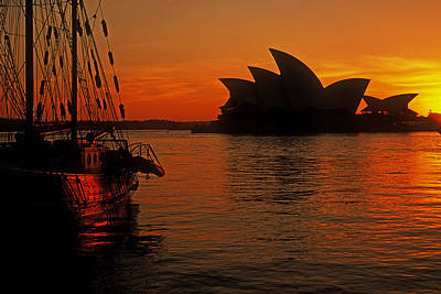 Photograph - Morning In Sydney Harbour by Inge Riis McDonald