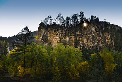 Photograph - Morning In The Canyon by Dakota Light Photography By Dakota