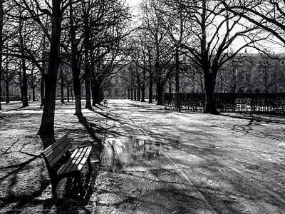 Art Print featuring the photograph Morning In The Hofgarten by Ross Henton