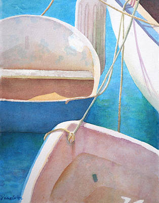 Painting - Morning In The Marina by Diane Cutter