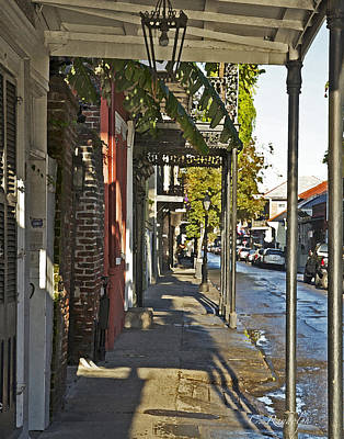 Photograph - Morning In The Quarter by Cheri Randolph