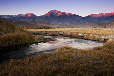 Owens River Photograph - Morning In The Sierra Nevada by Andrew Soundarajan