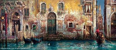 Painting - Morning In Venice by Cao Yong