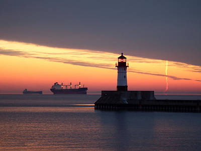 Duluth Photograph - Morning Inspiration by Alison Gimpel
